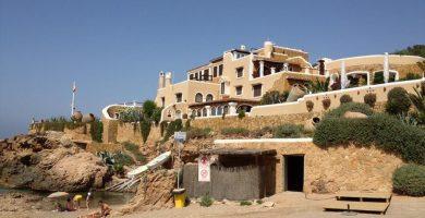 Playa Cala d'Es Jonc en Sant Joan de Labritja