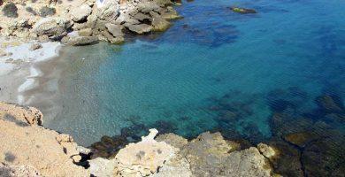 Playa Cala Desnuda en Mazarrón