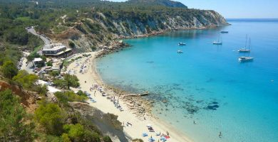 Playa Cala D'Hort en Sant Josep de sa Talaia