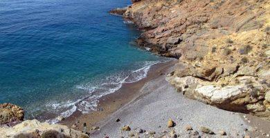 Playa Cala El Bolete en Cartagena