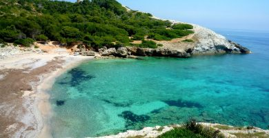 Playa Cala es Matzoc en Artà