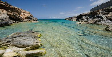 Playa Cala Estreta en Palamós