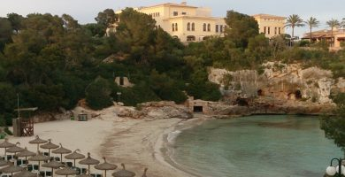 Playa Cala Ferrera en Felanitx