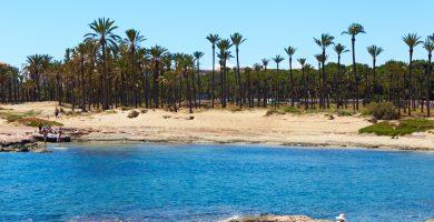 Playa Cala Ferris en Torrevieja