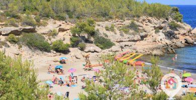 Playa Cala Forn en L'Ametlla de Mar