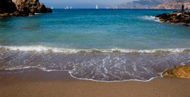 Playa Cala Fría en Cartagena