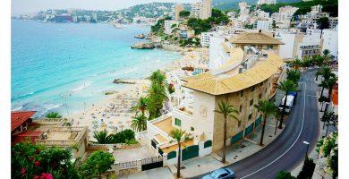 Playa Cala Ganduf en Palma de Mallorca
