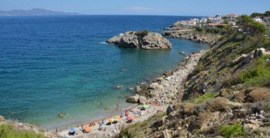 Playa Cala Illa Mateua en L'Escala