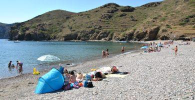 Playa Cala Joncols en Roses
