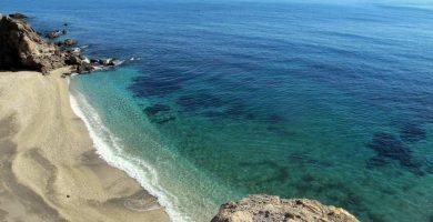 Playa Cala Junquera en Lorca
