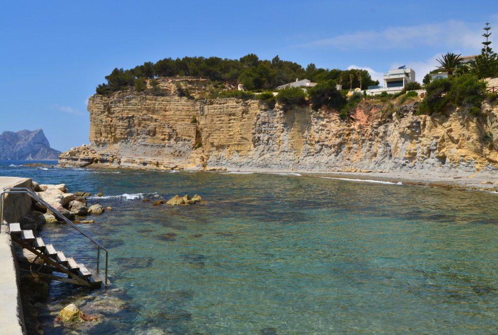Playa Cala L'Advocat en Benissa