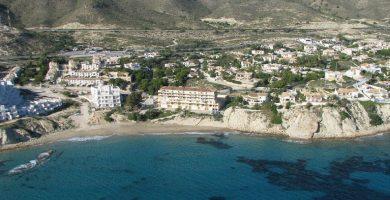 Playa Cala Lanuza en El Campello
