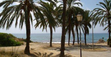 Playa Cala les Palmeretes en El Campello