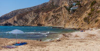 Playa Cala Les Urques en Calp