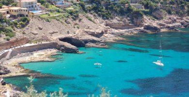 Playa Cala Llamp en Andratx