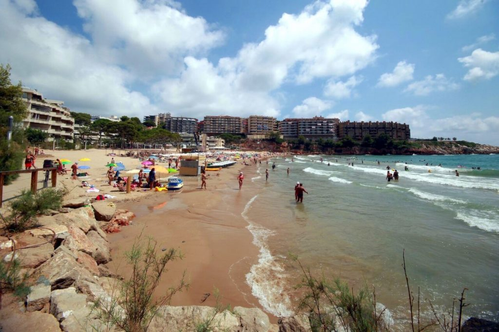 Playa Cala Llenguadets en Salou