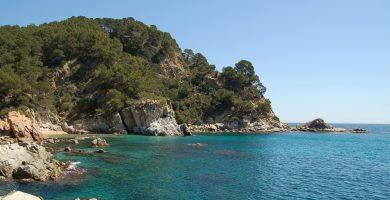 Playa Cala Llevadó en Tossa de Mar