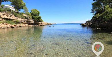 Playa Cala Llobeta en L'Ametlla de Mar