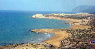 Playa Cala Magre en Cartagena