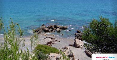 Playa Cala Misteri en Mont-roig del Camp