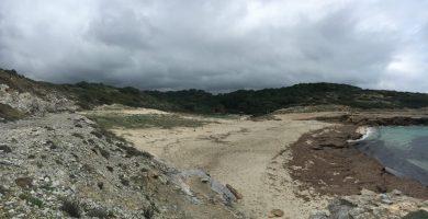 Playa Cala Mitjana en Ferreries