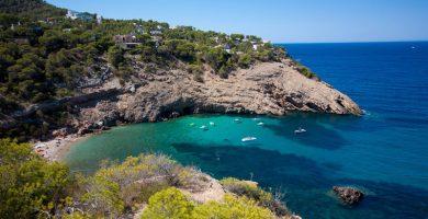 Playa Cala Molí en Sant Josep de sa Talaia