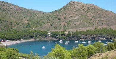Playa Cala Montjoi en Roses