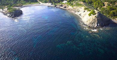Playa Cala Morella Nou en Maó