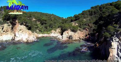 Playa Cala Morisca en Sitges