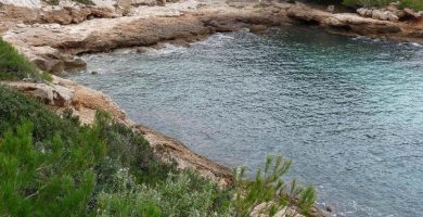 Playa Cala Moscas en L'Ametlla de Mar