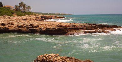 Playa Cala Mundina en Alcalà de Xivert