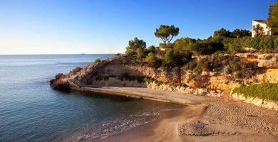 Playa Cala Pepo en L'Ametlla de Mar
