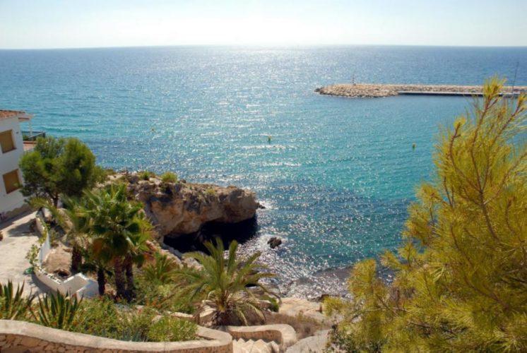 Playa Cala Portitxol en Teulada