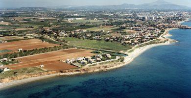 Playa Cala Puntal en Vinaròs