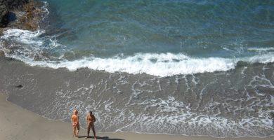 Playa Cala Rajá en Níjar