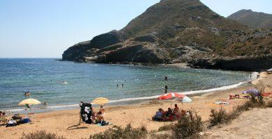 Playa Cala Reona en Cartagena