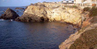 Playa Cala Roja en Cartagena