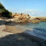 Playa Cala Rotja en Santa Eulalia del Río