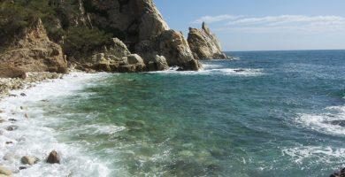 Playa Cala S'Agulla en Blanes