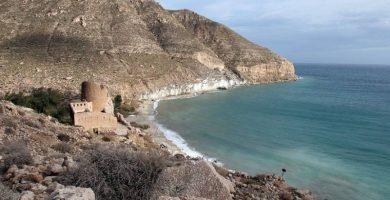 Playa Cala San Pedro en Níjar