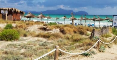 Playa Cala Serralot en Santa Margalida