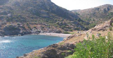 Playa Cala Tamariua en El Port de la Selva
