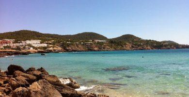 Playa Cala Tarida en Sant Josep de sa Talaia