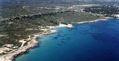 Playa Cala Trebol en L'Ametlla de Mar