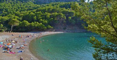 Playa Cala Tuent en Escorca