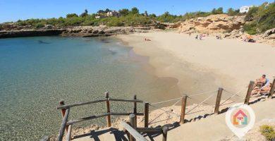 Playa Cala Vidre en L'Ametlla de Mar