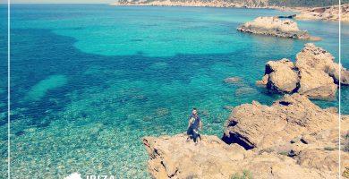 Playa Cala Xarraca en Sant Joan de Labritja
