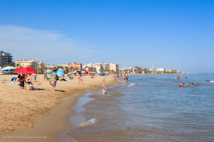 Playa Calafell en Calafell