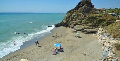 Playa Calahonda en Nerja