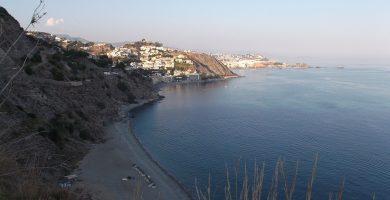 Playa Calaiza en Almuñécar